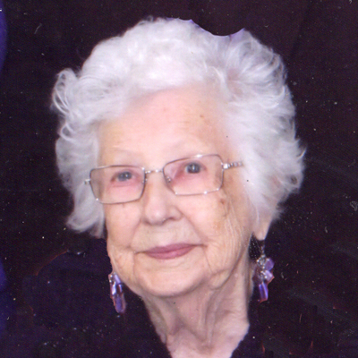 Mary Virginia McLeod 1920-2014